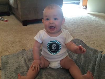 Alex 8 Months