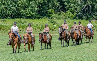 2nd Co Gov Horse Guard Recruit Class Drill 2020
