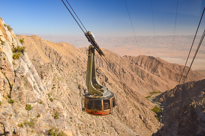 Palm Springs Aerial Tramway, CA - Oct., 2017