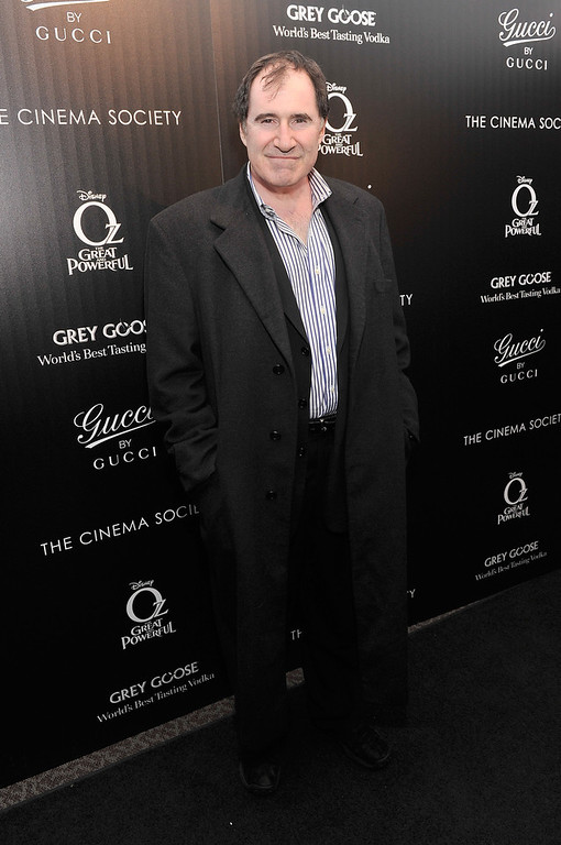 ". Actor Richard Kind attends the Gucci and The Cinema Society screening of ""Oz the Great and Powerful\"" at the DGA Theater on March 5, 2013 in New York City.  (Photo by Stephen Lovekin/Getty Images)"
