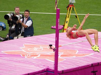 High jump Olympic Heptathalon