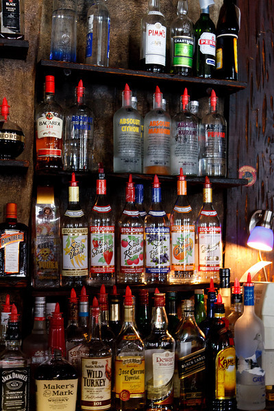 Vodkas & Whiskeys at Lafitte's Blacksmith Shop