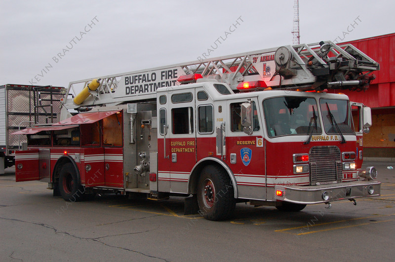 Buffalo Fire reserve ladder
