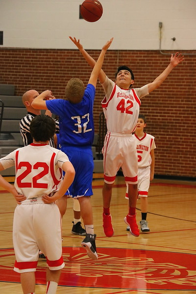 WMS 7/8 BOYS BASKETBALL vs Winfield  010418