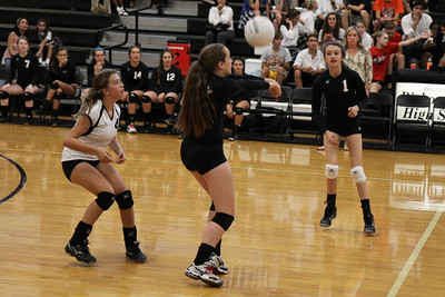 BL Freshman Volleyball vs Bishop Dunne (09/06/2012)