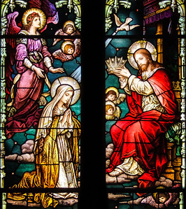 5. The Fifth Glorious Mystery - Mary Crowned Queen of Heaven and Earth