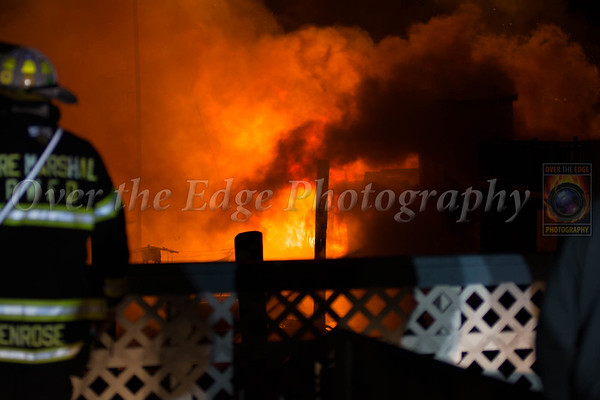 Port Washington Multi-Boat Fire 01/19/2015