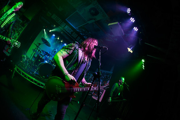 Stevie R Pierce and the Hooligans Waterloo Music Bar