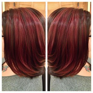 Christina adds gorgeous color! #nofilter