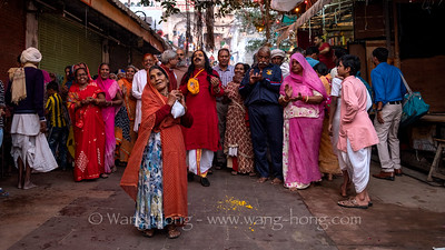 Pushkar during Camel Fair 骆驼节时的普什卡