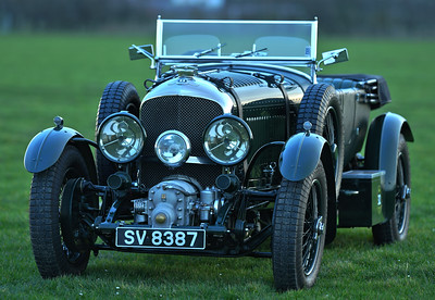 1929 Bentley 4 1/2 Litre Blower SV8387