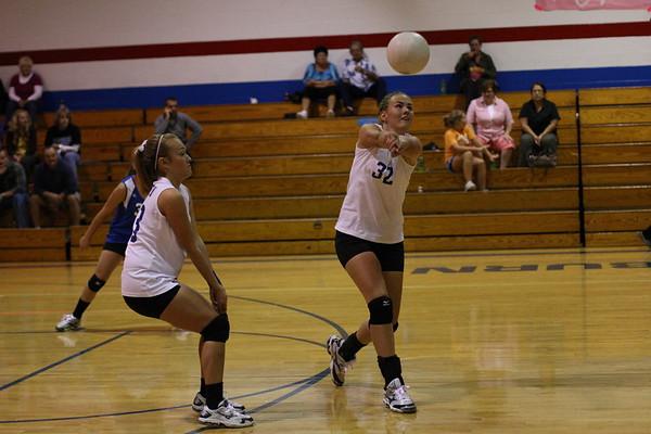 Auburn Volleyball vs Eastern Montgomery 9-30-2010