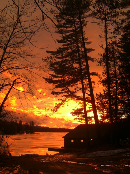 1.7.2015.Sunset, Ampersand Bay, jan 4, 2015, 430pm.CIMG9424ss.jpg