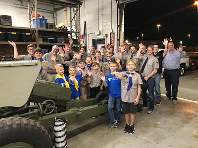 2018-10-03 New Life Cadets Visit