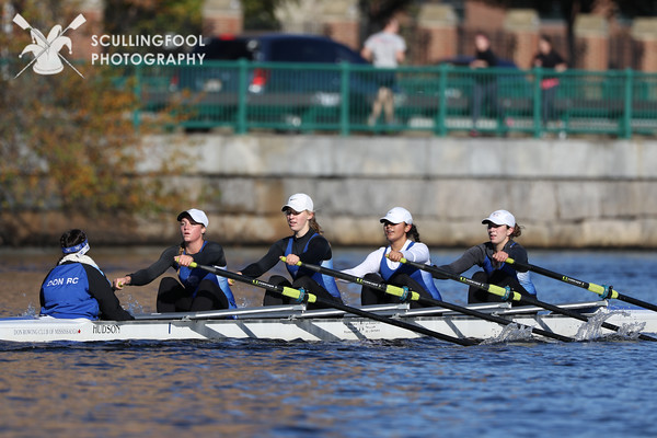Women's Youth Coxed Quad
