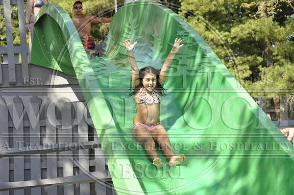 July 4 - Waterslide