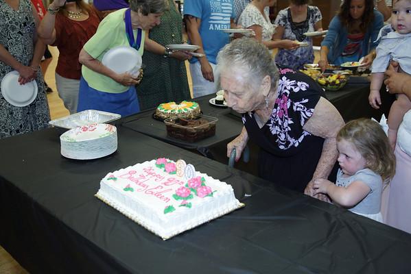 Eileen's 90th