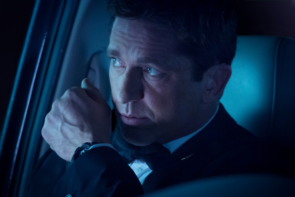 """. This film image released by FilmDistrict shows Gerard Butler in a scene from \""""Olympus Has Fallen.\"""" (AP Photo/FilmDistrict, Phil Caruso)"""
