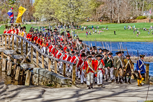 Concord MA, Patriots Day 2017