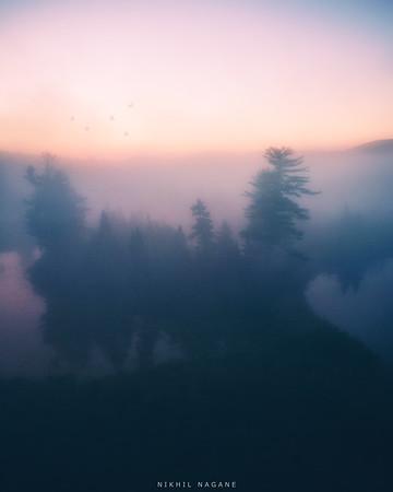 Foggy Adirondacks