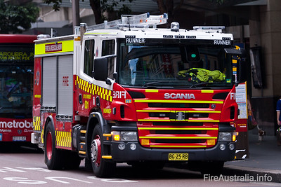 FRNSW - ME257 -Scania Pumper