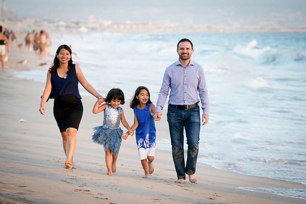 Family Photos under the Pier
