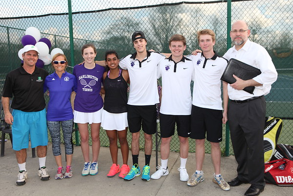 Tennis Senior Night 2016
