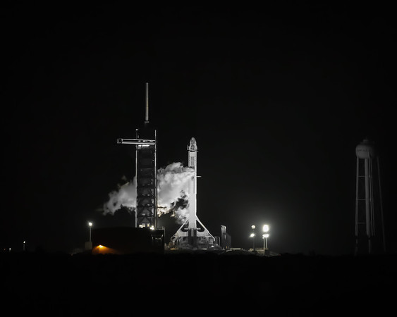 CRS-23 Aboard a SpaceX Falcon 9