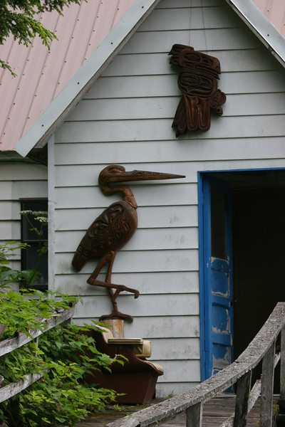 Side of a house in Pelican