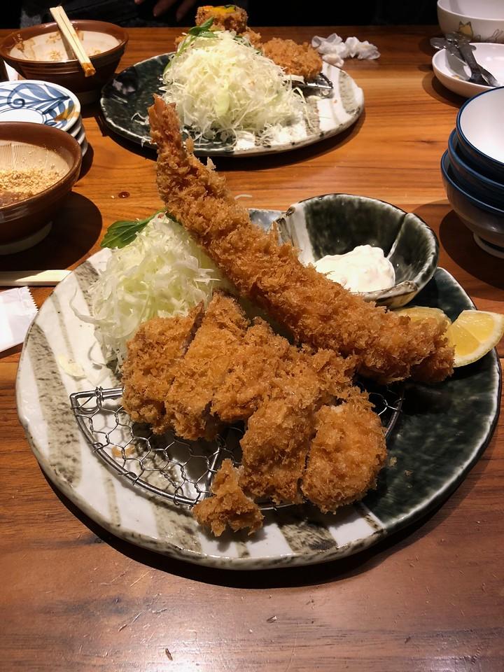Katsukura Tonkatsu restaurant at Shinjuku Takashimaya