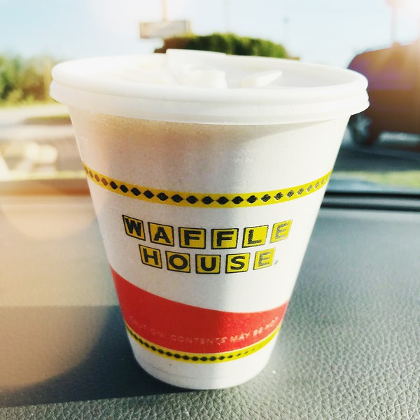 Waffle House cup