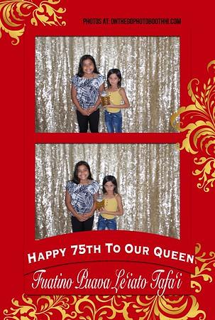 Happy 75th! Tafai Aiga