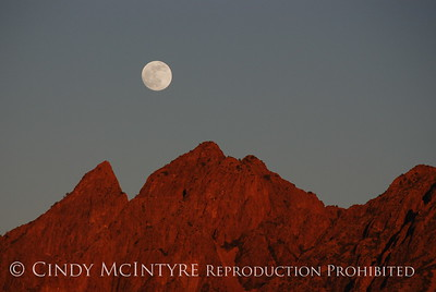 Blue Moon Over Chisos Animation