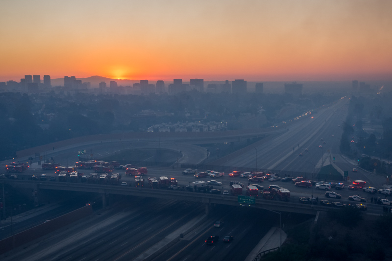 December 6 - Surreal sunrise on a very sad and smoky Los Angeles morning.jpg
