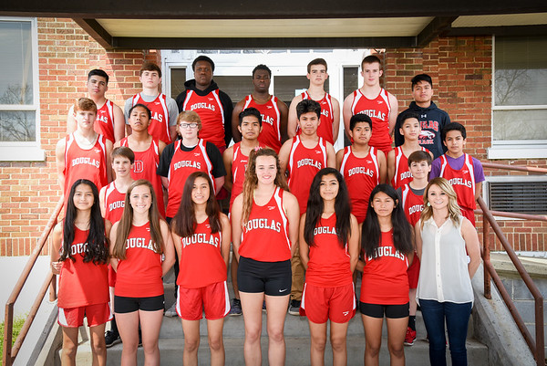 DHS Track and Cross Country Teams 2017