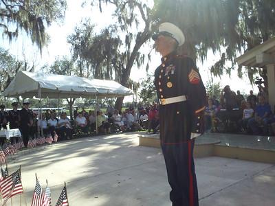 Fallen Hero's Memorial and Quarterly Field of Honor ceremonies