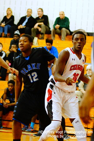 12-09-2014 Quince Orchard HS vs Blake HS Boys Varsity Basketball , Photos by Jeffrey Vogt Photography with Lisa Levenbach