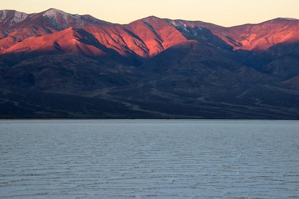 Death Valley National Park: Salt Flats