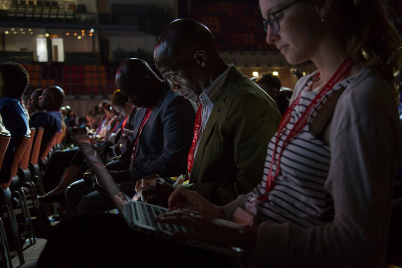 21st International AIDS Conference (AIDS 2016), Durban, South Africa. How do we get there? (FRPL0103) A Lifetime of Support: How We Ended Paediatric AIDS  Audience, 21 July, 2016. Photo©International AIDS Society/Rogan Ward