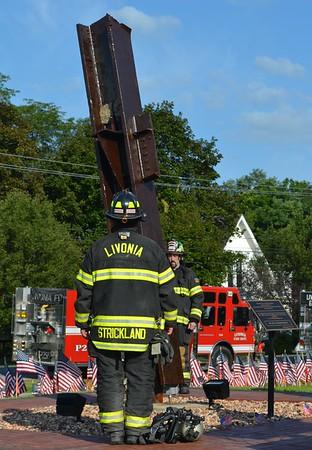 Livonia, NY F.D. 9/11  20th Anniversary Ceremony - 9/11/21