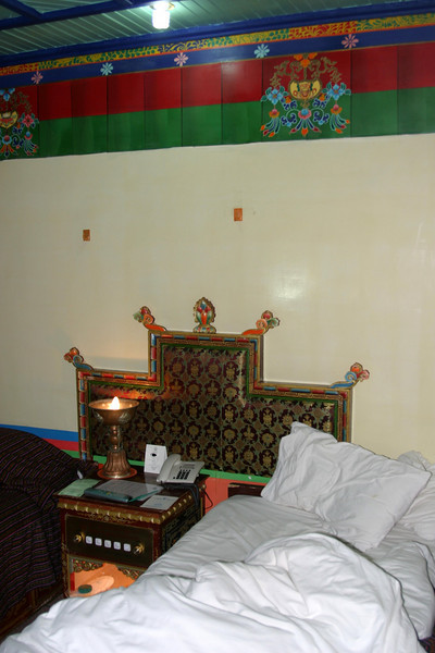 DhoodGu Hotel Lhasa Tibet, very comfortable, I go back there anytime. Qinghai -Beijing to Tibet Railway, Beijing to Lhasa  Oct  2006