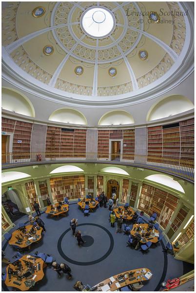 Register House domed reading room - interior