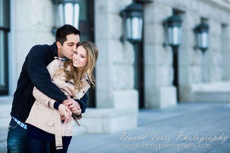 Utah State Capitol Building Engagements by David Terry Photography