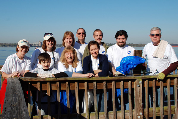 St. Johns River Cleanup - March 2010