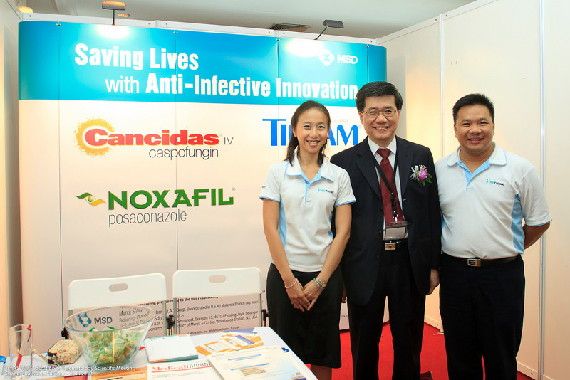 Caroline Wong, Dr Ng, Darren Kong - MSD
