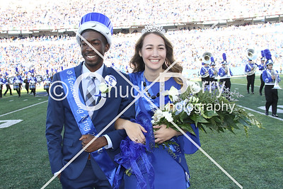 Vandy Homecoming Court & Fans  10.8.2016
