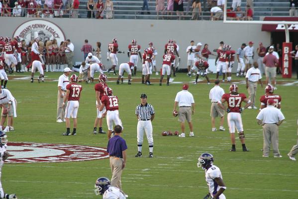 Alabama -  Western Carolina 2006