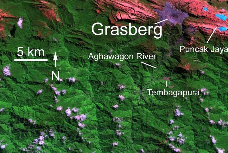 Freeport is a new owner of Grasberg mine.