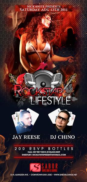 Rockstar Lifestyle @ Sabor Tapas Bar & Lounge 8.13.11