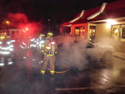 NEW CASTLE TOWNSHIP VEHICLE FIRE 12-18-2009 PICTURES AND VIDEO BY COALREGIONFIRE